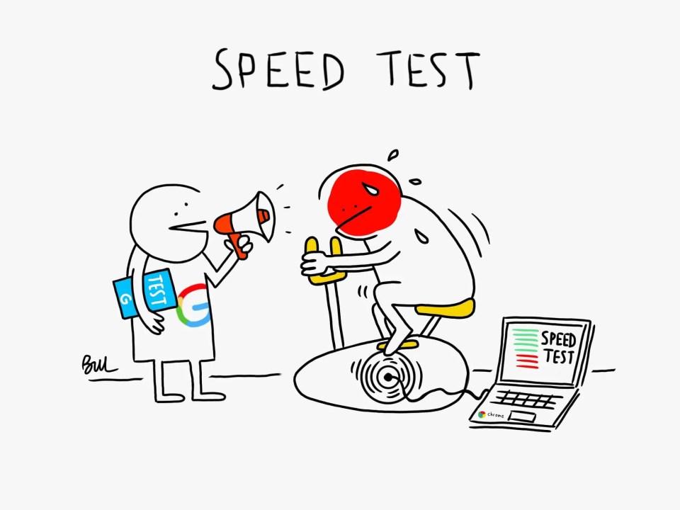 Speedtest: Un p'tit test de vitesse à deux ?
