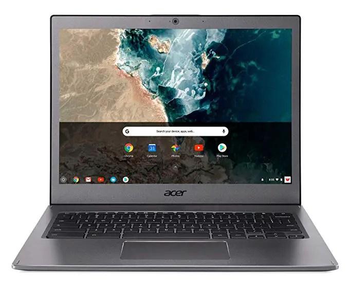 """Acer Chromebook CB713-1W-30S8 Ordinateur portable 13"""" QHD Gris (Intel Core i3, 8 GB de RAM, Mémoire 32GB, Intel® HD Graphics , Chrome OS) Clavier AZERTY"""