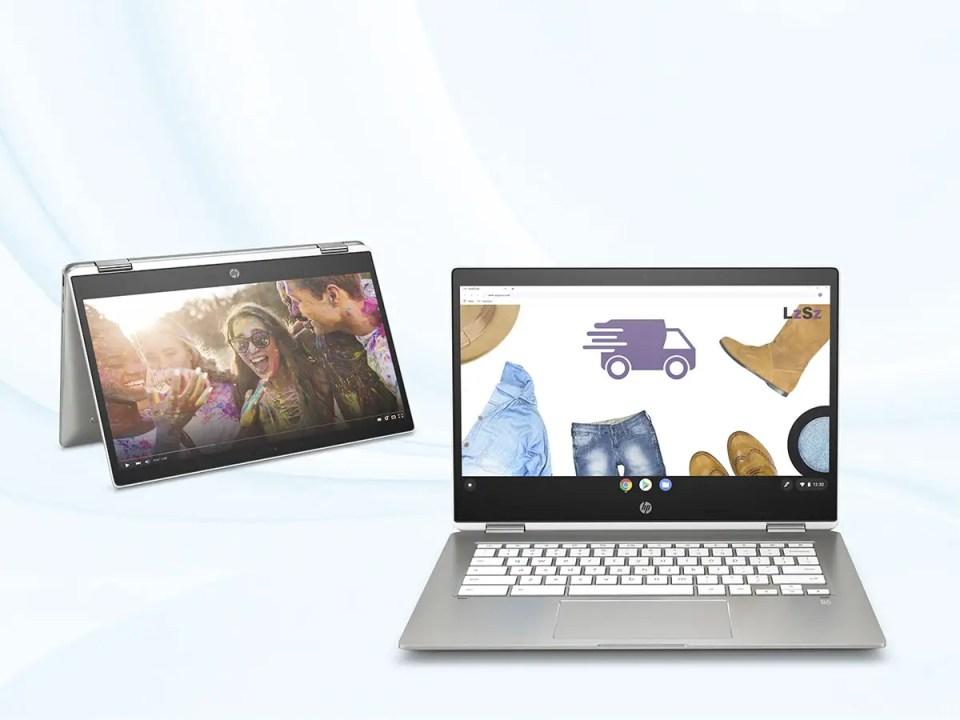 Chromebook HP X360 4 modes