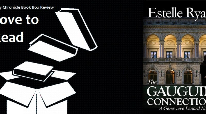 My Chronicle Book Box The Gaugin Connection by Estelle Ryan banner