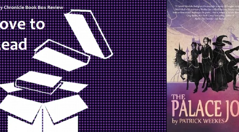 The Palace Job by Patrick Weekes banner