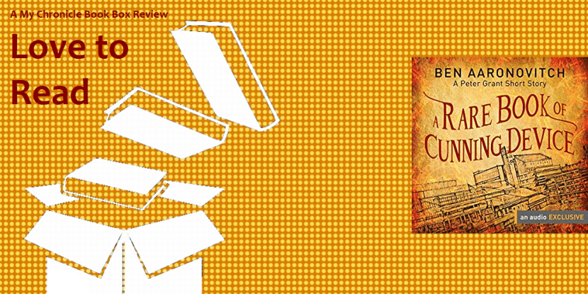A Rare Book of Cunning Device by Ben Aaronovitch banner