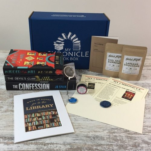 Book Subscription Box Crime and Mystery - Feb 18