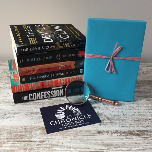 Book Subscription Box Crime and Mystery books