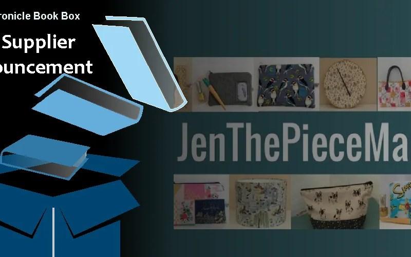 My Chronicle Book Box Supplier Announcement - JenThePieceMaker Banner