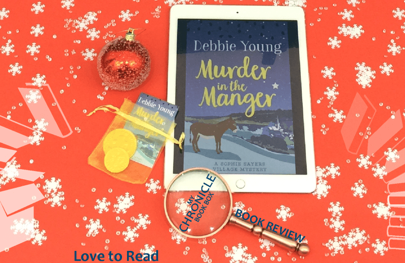 Murder in the Manger by Debbie Young Debbie Young book review banner