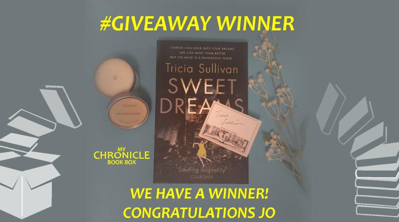 Winner Sweet Dreams by Tricia Sullivan giveaway