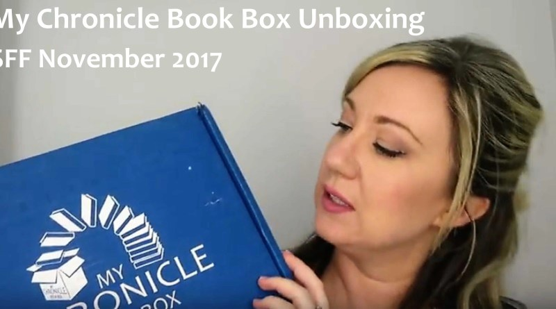 Subscription Book Box Unboxing (SFF Nov 17)