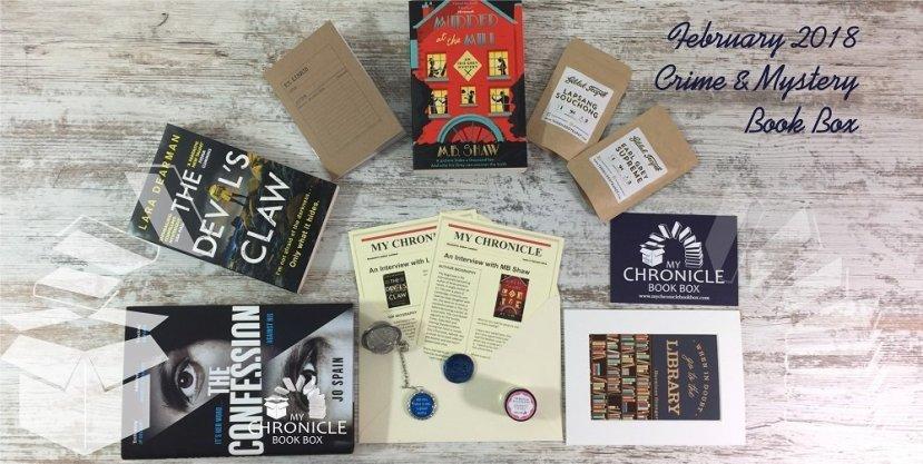 Feb 2018 C&M book box banner