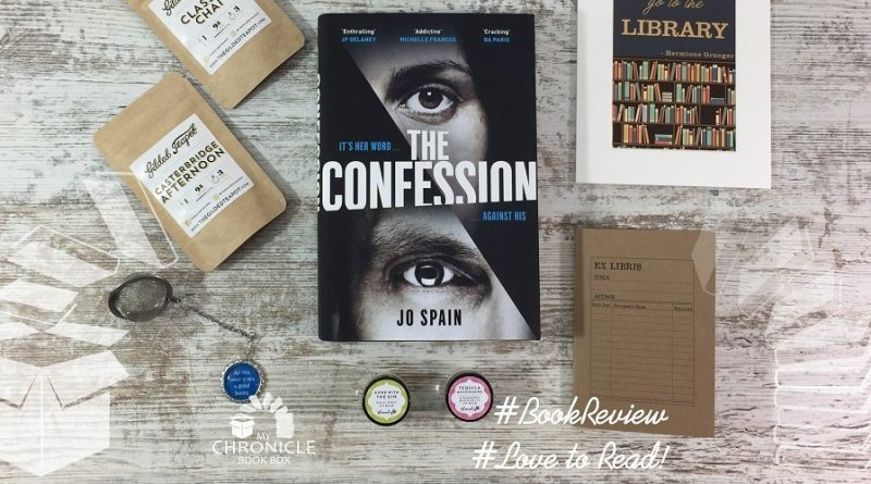 The Confession by Jo Spain banner