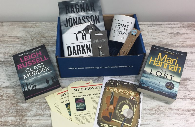 C&M book box May 2018