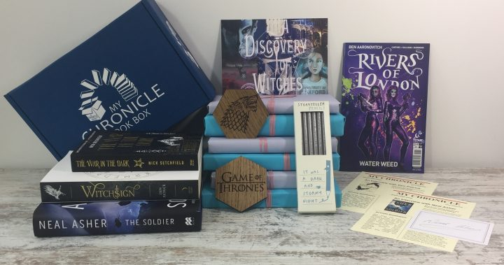 Science Fiction and Fantasy August 2018 Subscription box