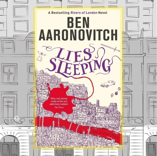 Lies Sleeping by Ben Aaronovitch Book Cover