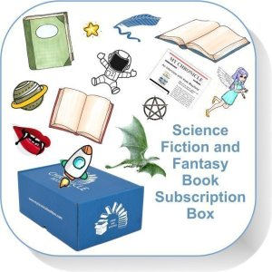 Book Subscription Science Fiction and Fantasy Button