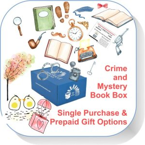 Single purchase Book Box Crime and Mystery button