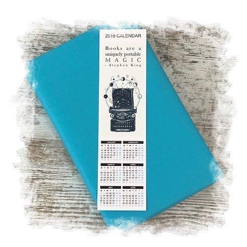 Book Subscription Box - Science Fiction Fantasy - November 2018 - Calendar Bookmark