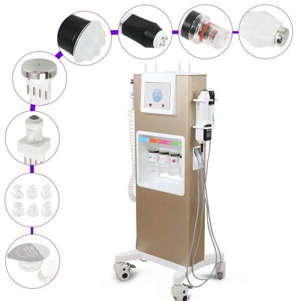 Hydro Water Jet Peeling RF Oxy Geneo Skin Rejuvenation Machine