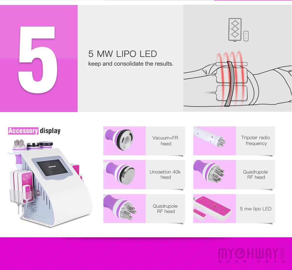 Radio Frequency Vacuum Slimming Touch Machine