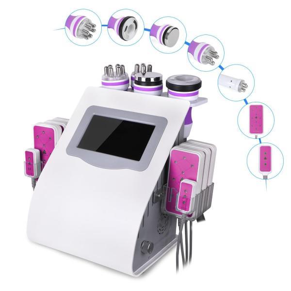 6 in 1 cavitation slimming machine