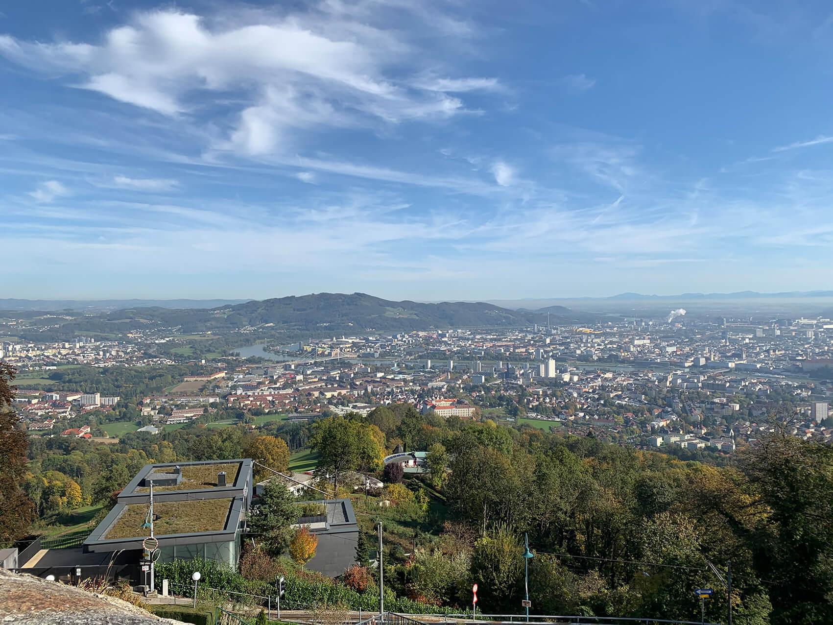 5 Aussichtspunkte, die man in Linz kennen sollte