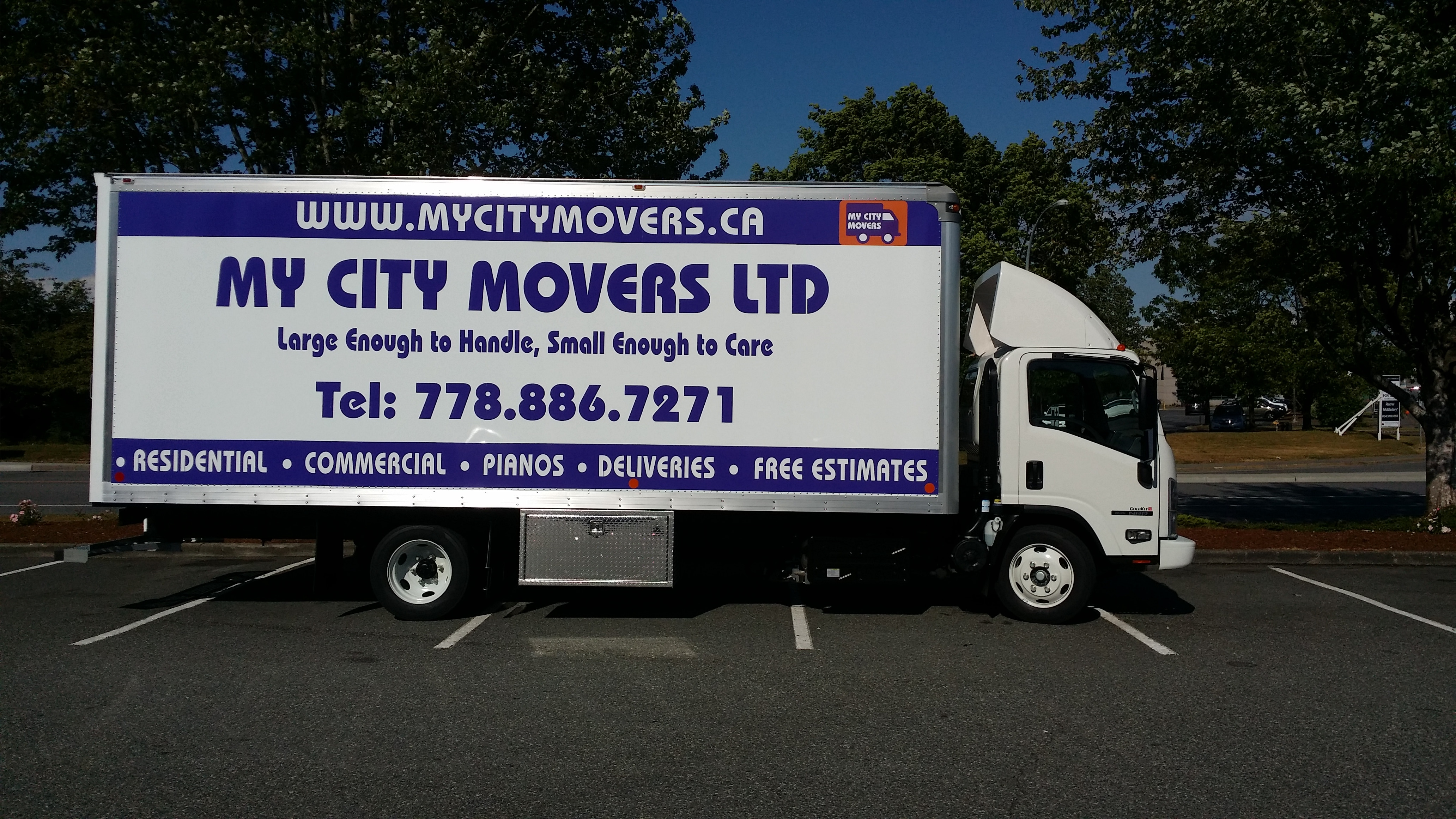 My City Movers truck