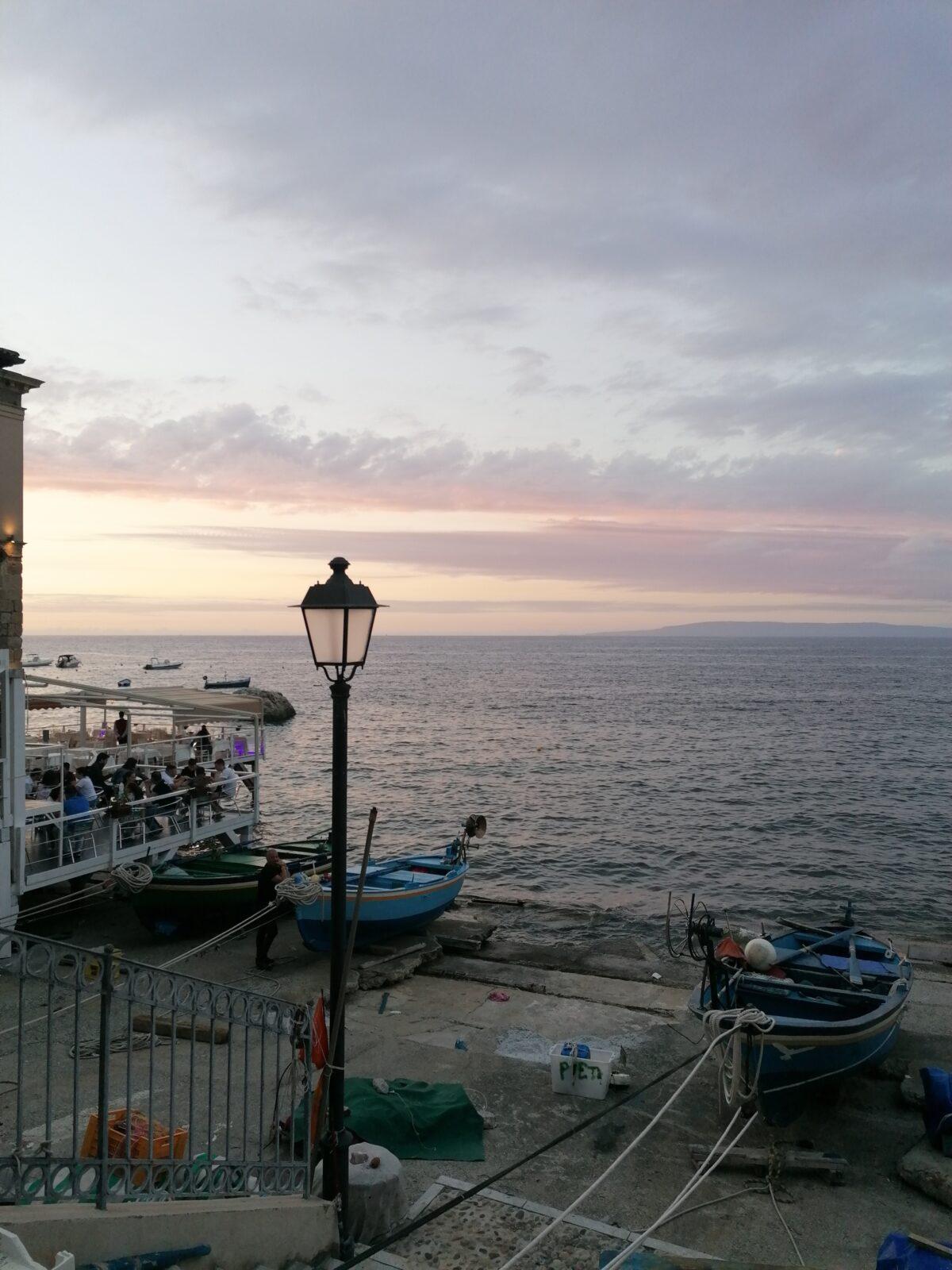 Calabria y la leyenda de Scilla