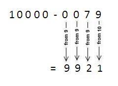 vedic maths subtraction tutorial 1