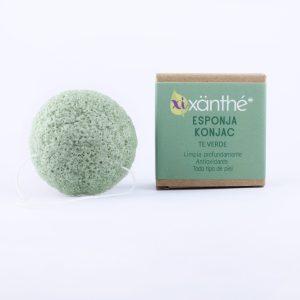 exfoliante facial de te verde