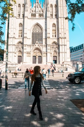 St Michael and St Gudula Cathedral in Brussels. Notre Dame Brussels Perfect 2 day Brussels itinerary