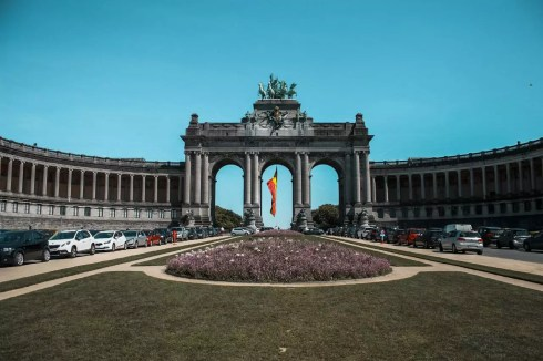 Parc du Cinquantenaire in Brussels  Perfect 2 day Brussels itinerary