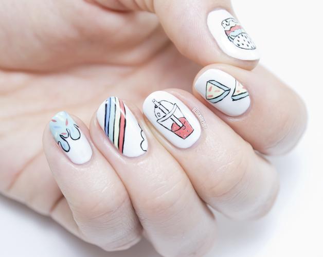 spring summer nail art 2016
