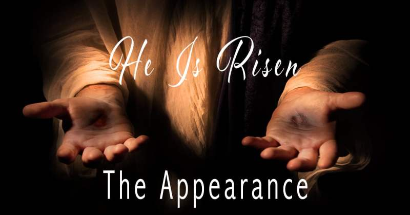 The Appearance of Jesus
