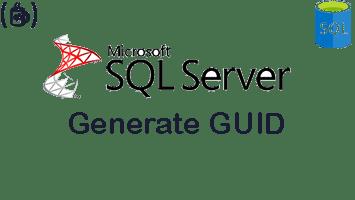 Generate New GUID (uniqueidentifier) in SQL Server