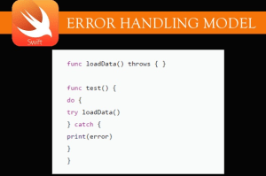 ERROR Handling in swift !