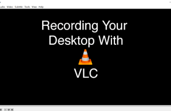 how to screen record using vlc