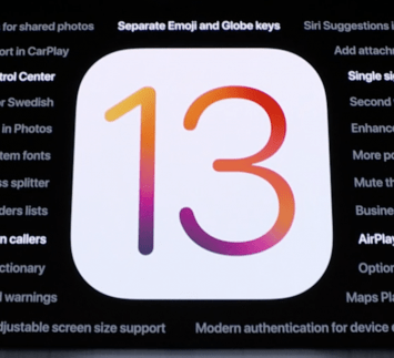 What's new with iOS 13.x