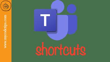 Essential MS Teams Keyboard Shortcuts
