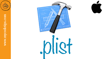 What is the Property List or plist in IOS .