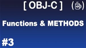 objective-c-functions-methods