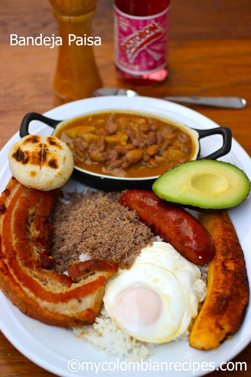 Colombiana Meaning : colombiana, meaning, Bandeja, Paisa, (Paisa, Platter), Colombian, Recipes