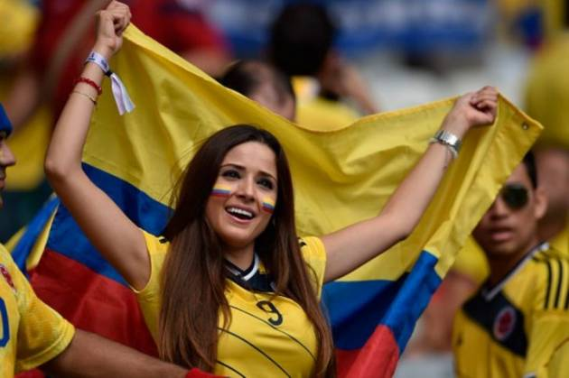 The Sexiest Colombian Girls  Word Cup Brazil 2014 Girls