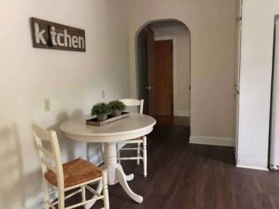 Kitchen Hallway Arch
