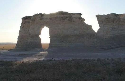 Monument Rocks Keyhole