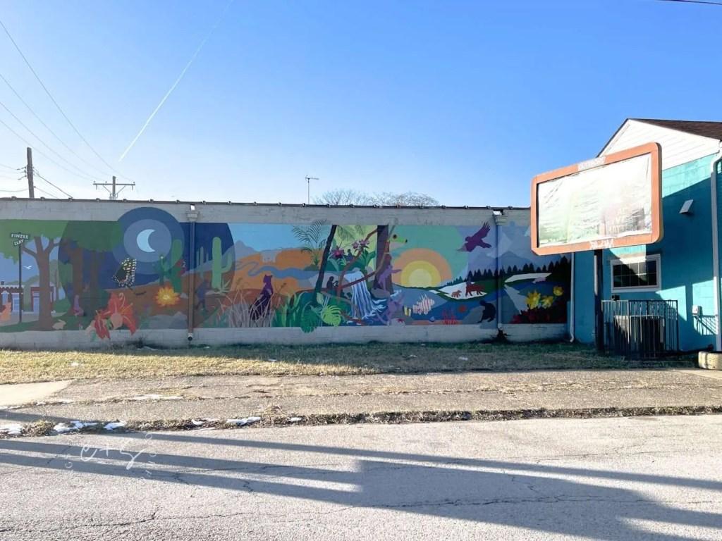 Smoketown Nature Louisville Mural