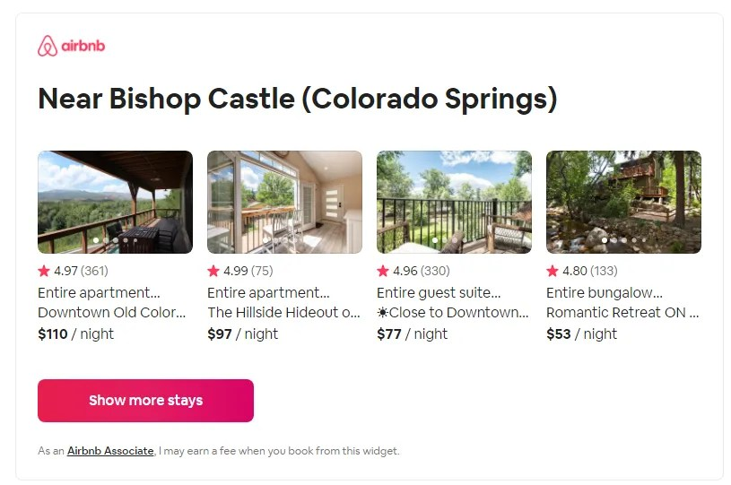 Airbnb Associates Ending the program for travel bloggers
