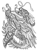 Fantasy coloring pages. Free Printable Fantasy coloring pages.