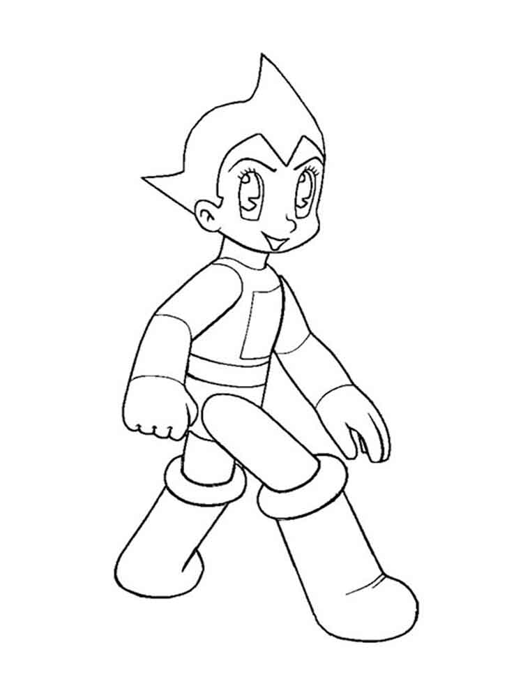 Astro Boy coloring pages. Download and print Astro Boy