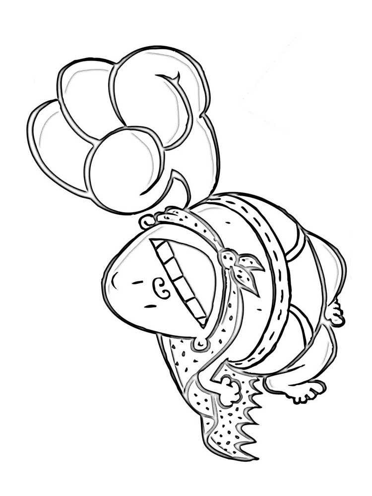 Free Captain Underpants coloring pages. Download and print