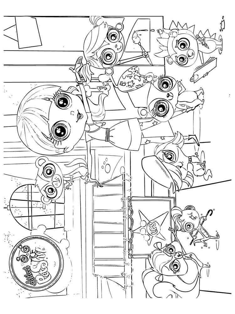 Littlest Pet Shop 8 Coloring Pages Printable