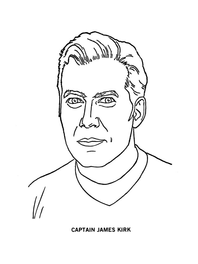 Free Star Trek coloring pages. Download and print Star